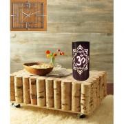 AH Golden Color Om Design Iron Table Lamp