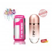 Fragancia Carolina Herrera 212 VIP Rose 100 ml Eau de Parfum