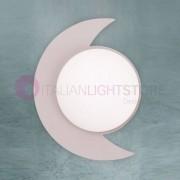 Lam Export Moon Plafoniera Luna Da Parete Soffitto D.47 Design Moderno