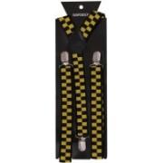 Tiekart Y- Back Suspenders for Men(Yellow)