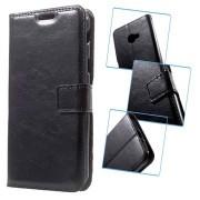 Samsung Galaxy Xcover 4 Classic Wallet Case - Zwart