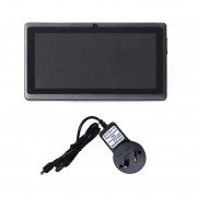 Pantalla LCD TFT De 7 Pulgadas Dual Core Children's Tablet PC 8G Negro Para Android