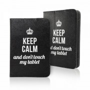 Keep calm universeel 7 - 8 inch tablet hoes