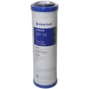 DIPROCLEAN Cartouche charbon bloc 5 microns Pentek 9-3/4 pouces - Haute Déchloration