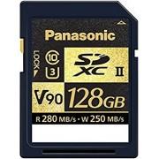 PANASONIC Cartão SDXC 128GB V90 UHS-II 280MB/s (destock)