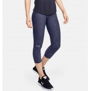 Under Armour Women's UA Fly Fast Jacquard Crop Blue XS