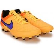 Nike TIEMPO GENIO LEATHER FG Football Shoes For Men(Orange)