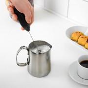 EY Eléctrico Mini Batir Huevo De Acero Inoxidable Café Mezclador Herramienta De La Cocina De La Espuma Verde