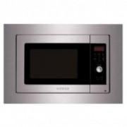 Edesa EMW-2320-I X microondas Integrado Microondas con grill 23 L 800 W Acero inoxidable