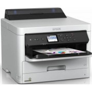 Imprimanta Epson WorkForce Pro WF-C5210DW, inkjet, A4, 24 ppm, Duplex, Retea, Wi-Fi (Alba)