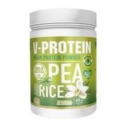 V-protein de ervilha e arroz castanho sabor baunilha 1kg - Gold Nutrition