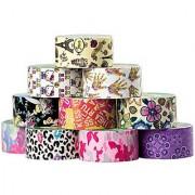 10 Rolls Printed Duck Brand Duct Tape Bulk Lot Patterns Art Crafts Printed DIY 100yds Hello Kitty
