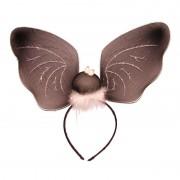 Merkloos Haarversiering vleermuis