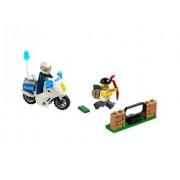 LEGO (LEGO) City police bikes and thief 60041