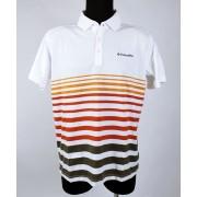Columbia Poloing Sweat Threat Stripe Polo Shirt