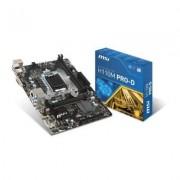 MSI Płyta MSI H110M PRO-D /H110/DDR4/SATA3/USB3/PCIe3.0/s.1151/mATX