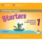 Cambridge English Starters 1 for Revised Exam from 2018 Audio CD - Authentic Examination Papers from Cambridge English Language Assessment(CD-Audio) (9781316635971)