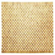 Sealskin badmat Woodblock - Teak - 60 x 60 cm - Bruin