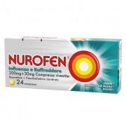 Reckitt Benckiser Nurofen Influenza E Raffreddore 24 Compresse Rivestite