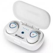 Bluetooth слушалки MICROLAB TREKKER 200, с калъф за зареждане, бял цвят, Trekker 200WH_VZ