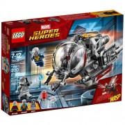 Set de constructie LEGO Marvel Super Heroes Exploratorii Taramului Cuantic