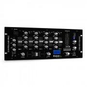 Ibiza DJM950USB-REC 4-csatornás keverőpult, USB rögzítés (BD-DJM95USB.REC)