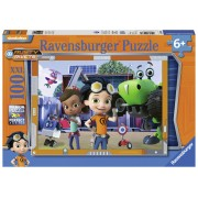 PUZZLE RUSTY RIVETS, 100 PIESE - RAVENSBURGER (RVSPC10937)