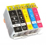 (5pack) CANON PGI-5 CLI-8 multipack do tlačiarne Canon - kompatibilný
