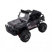 Zerospace Keliwow Mini 4WD Off Road RC Car 1/22 Scale 2.4GHz Electric Vehicle Remote Control Race Car 4x4 Fast RC Jeep 25MPH RC Buggy with Lights RTR - Black