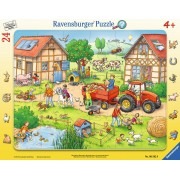 Puzzle Ravensburger - Mica Mea Ferma, 24 piese (06582)