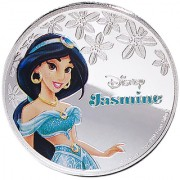 Disney Classics Coin Collection - Jasmine Silver Plated Coin in Capsule Box