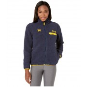 Columbia College Michigan Wolverines CLG Mountain Sidetrade Heavyweight Fleece Collegiate Navy