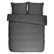 Essenza Povlečení na dvojlůžko, bavlněné povlečení na postel, obrázkové povlečení, dekorativní povlak, antracitové barvy, Essenza, 200 x 220 cm - …