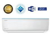 Aparat de aer conditionat Gree Bora A4 Silver R32 GWH12AAB-K6DNA4A Inverter 12000 BTU, Clasa A++, G10 Inverter, Buton Turbo, Auto-diagnoza, Wi-FI, Display, Kit de instalare inclus