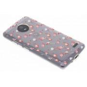 Flamingo design TPU hoesje voor de Motorola Moto E4