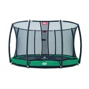 BergToys BERG InGround Elite+ 330 Groen + Safety Net T-series