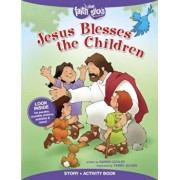 Jesus Blesses the Children Story + Activity Book, Paperback/Karen Cooley