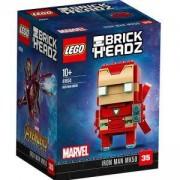 Конструктор Лего Брикхедз - Железният човек, LEGO BrickHeadz, Iron Man, 41604
