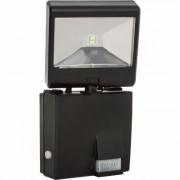 Maxsa Solar-Powered Motion-Activated LED Security Spotlight - 685 Lumens, Black, Model 44311