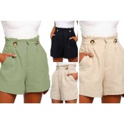 AC Electronic Limited- Domo Secret £8.99 instead of £29.99 (from Domo Secret) for a women's casual poplin shorts - save 70%