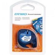 Dymo 91201 (S0721610) Tape Zwart op wit (12 mm)