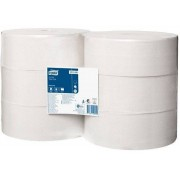 Tork Universal toiletpapier jumbo 1-lgs wit 480 mtr x 10 cm pak à 6 rol/2400 vel (120160)