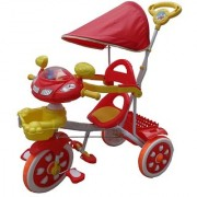 Oh Baby Baby Helicopter Bike Musical With Tubeless Tyre 2 In 1 Function Red Color Tricycle For Your Kids SE-TC-44