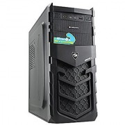Zebronics Star Cabinet Without SMPS - Black