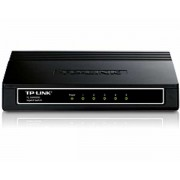 TP-Link Switch TL-SG1005D 5-port Gigabit Desktop Switch, 5×10/100/1000M RJ45 ports, plastic case