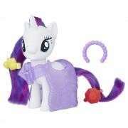My Little Pony, Figurina cu accesorii fashion de Gala - Rarity