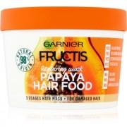 Garnier Fructis Papaya Hair Food mască regeneratoare pentru părul deteriorat 390 ml