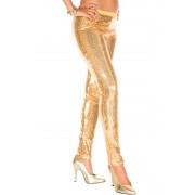 Music Legs Legging à paillettes GOLD