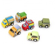 Mini Vehicle Car Engine Model 6 pcs For Kids Baby Educational Toys