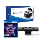 Consola PlayStation PS4 VR + camera PS4 + joc VR Worlds PS4